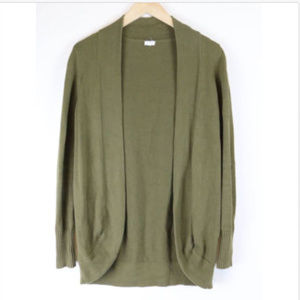 J.Crew Factory Small Open Shawl Cardigan Green